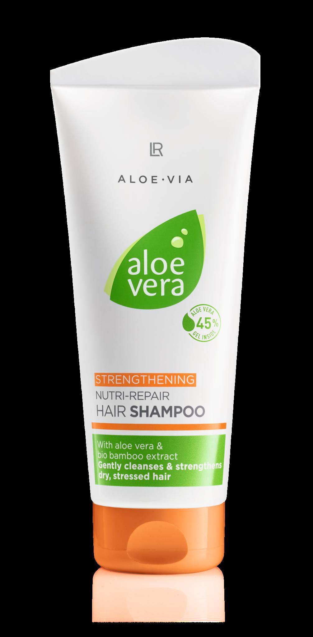 tube mit shampoo